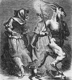 "northernvikinggirl: "" loresseintes: "" ""The dance of the Sabbath"", illustration from the Dictionnaire Infernal by Jacques Auguste Simon Collin de Plancy (1818) "" Sabbath is soon!! """