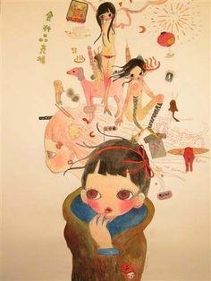 Aya Takano   Girl dreaming
