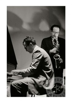 Dave Brubeck and Paul Desmond by Ryszard Horowitz www.RockPaperPhoto.com
