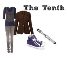 "The Tenth Doctor ""everyday cosplay"""