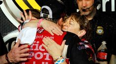 NASCAR Moms: Happy Mother's Day from NASCAR on FOX | FOX Sports on MSN. Tony Stewart hugs his mom.  http://www.pinterest.com/jr88rules/nascar-2014/ #NASCAR2014