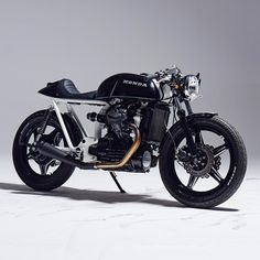 """If there's a blueprint for a modern-day custom, this is it. Lukas and Sylwester from @eastern_spirit_garage have created a stunning Honda CX500, with perfect proportions and stance. """"I enjoy building 'classic' looking bikes,"""" Sylwester tells us, """"so most of the technical elements are original, but with modern touches."""" The result is incredible, and the images by @mateusz.stankiewicz are just as good too. See the hi-res gallery at http://www.bikeexif.com/honda-cx500-eastern-spirit"""