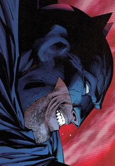Batman by Frank Miller drawn by Jim Lee. Batman Dark, I Am Batman, Batman The Dark Knight, Batman Robin, Comic Art, Comic Kunst, Comic Books Art, Dc Comics, Batman Comics