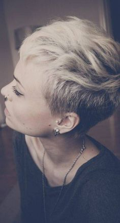 """short pixie hair cut replica of """"the Miley"""""""