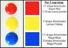 HUE. --Color Basics Chart!