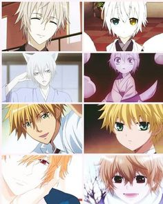 They are so adorable as kids ^.^ ♡♡♡♡ Inu x Boku SS, Kamisama Kiss, Maid-sama, Wolf Girl & Black Prince