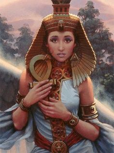 ISIS - Gran Diosa de los Nombres, Hija de Tierra y Cielo (Great Goddess of the Names, Child of Earth and Sky) Osiris Isis, Isis Goddess, Egyptian Goddess, Moon Goddess, Egyptian Women, Egyptian Art, 3d Character, Character Design, Art Beauté