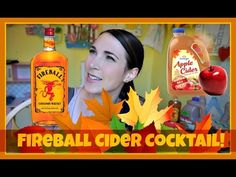 Fireball Cider Cocktail | Pinterest Drink #66 | MamaKatTV