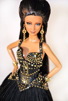 Ooak Barbie repaint/restyle/redress aka ๑'Sicilian Goddess' by Magia2000'