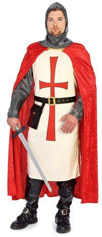 Crusader Knight Costume - Renaissance and Medieval Costumes#MedievalJousting #JustJoustIt