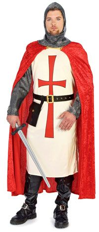Crusader Knight Costume - Renaissance and Medieval Costumes
