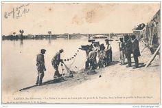 Nantes, coup de senne en Loire, prés du pont de la Vendée