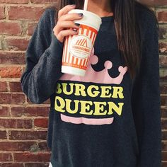 Use code RIFFRAFFREPLAURYN to save 15% every time you visit shopriffrafffrep.com BURGER QUEEN