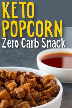 Check out this crunchy no carb snack that takes less than 15 minutes to prepare. Perfect Keto diet snack when your craving popcorn. #keto #ketodiet #snacks (Affiliate)