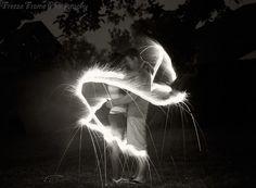Sparkler writing Freeze Frame Photography