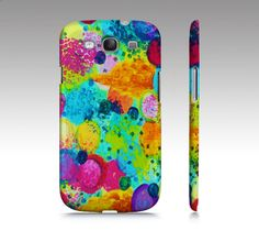 TIME for BUBBLY Samsung Galaxy S3 or S4 Hard by EbiEmporium, $39.00