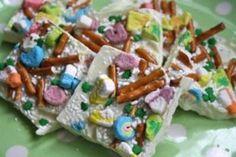 St. Patrick Day Crunch candy