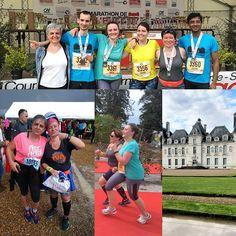 Passer un weekend à visiter le château de #Moulinsart (#Cheverny) à accompagner des défis (1er 10km et 1er semi) à rencontrer un groupe de runners ma foi fort sympathiques... C'était un cool weekend ! #running #defi #collegueMaisPote