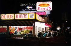 Pinks Hollywood.. Can't wait to try their hotdogs someday