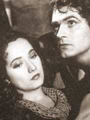 Cathy & Heathcliff, two lovers involved in a passionate but thwarted romance
