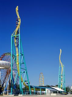Roller Coaster: Wicked Twister at Cedar Point. Not the tallest roller coaster I have been on but one of the scariest
