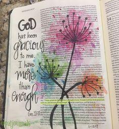 Genesis 33. Bible Art Journaling by @patjournals