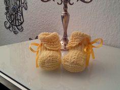 Babyschühchen Gr. 18, für Ihren Liebling... von Atelier van der Valk auf DaWanda.com