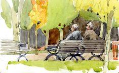 shari blaukopf paintings | watercolour | The Sketchbook