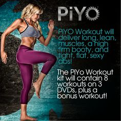 If you are interested in learning more about Chalene's new workout ..PiYo..available later in the year, go here and keep updated!!! Low impact/high intensity..oh yea!  PiYo: www.piyotbb.com?referringRepId=211920