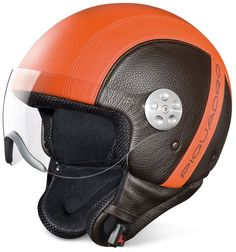 piquadro-brown-open-face-two-tone-leather-helmet-wvisor-
