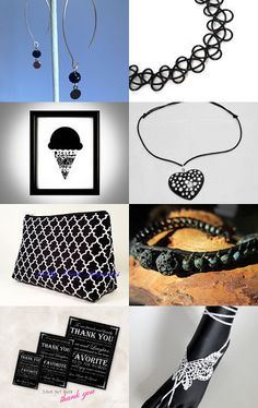 Black is beautifull  by Renata on Etsy--Pinned with TreasuryPin.com