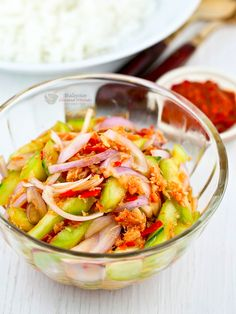 Requiring easily-sourced ingredients that are probably already available at home, these appetising Peranakan-style salads can be whipped up in no time at all!