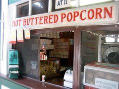 Hot Buttered E.W. Hobbs Popcorn by Mod Betty / RetroRoadmap.com, via Flickr