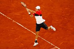 Kei Nishikori Photos - Mutua Madrid Open - Day Eight - Zimbio