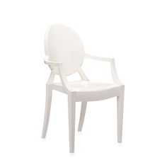 Kartell - Loulou Ghost Children's Chair - Glossy White