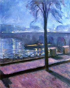 Night in Saint-Cloud (1890) by Edvard Munch