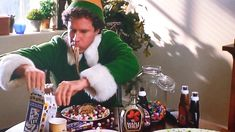 """Stick to your four major food groups: """"candy, candy canes, candy corn, and syrup."""""""