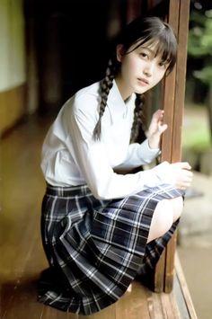 School Girl Japan, School Girl Dress, Japan Girl, Cute School Uniforms, School Uniform Girls, Girls Uniforms, Beautiful Japanese Girl, Beautiful Asian Women, Cute Asian Girls