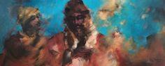 Artist : Paloma Rodríguez / Title : La Suave Vibración de Tus Palabras / Dimensions : 50 x 120 cms / Technique : Acrylic On Canvas / Price : MXN $35,000 / Status : Available / Year : 2015