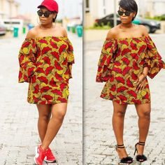 There are a number of ways to acquire ourselves beautified later an Ankara fabric, Even if you are thinking of what to make and slay once an Nigerian Yoruba dress styles. Latest Ankara Gown, Ankara Short Gown Styles, Trendy Ankara Styles, Ankara Gowns, Short Gowns, Dress Styles, Robes Ankara, Ankara Bags, Ankara Skirt