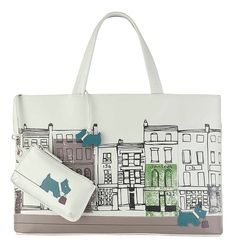 Radley Building showing coin purse for John Lewis 150 years