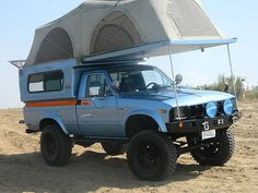Toyota HiLux FlipPac Camper. Hmm. Interesting
