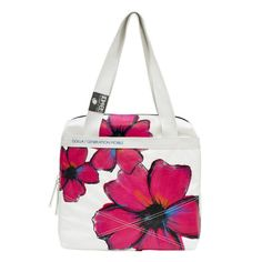 Look how pretty this laptop bag is by Franklin Covey. Love the bright pink flowers.
