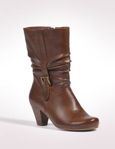 Shoes | Boots | Side Buckle Boot | dressbarn