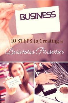 Create your business persona. #blogging #branding