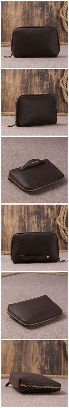 Genuine Leather Clutch, iPhone Wallet, Money Wallet