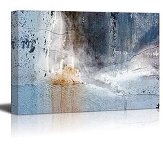 Abstract Canvas Art - Aged Wall - Giclee Print Modern Wal... https://www.amazon.com/dp/B01HRUSRNC/ref=cm_sw_r_pi_dp_x_-Ke.xbXBZPC54