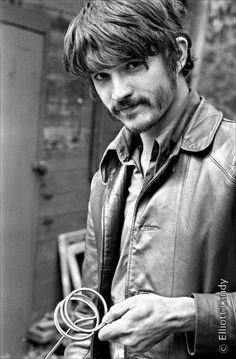 Rick Danko of The Band during the Big Pink album cover shoot.  Photo by Elliott Landy.