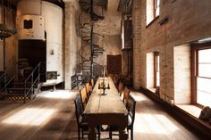 The new Hotel Emma Sternewirth bar in a converted San Antonio brewery, designed by Roman and Williams | Remodelista