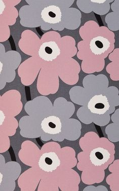 17 Ideas Wallpaper Pattern Vintage Wallpapers For 2019 Marimekko Wallpaper, Marimekko Fabric, Pastel Wallpaper, Print Wallpaper, Trendy Wallpaper, Pretty Wallpapers, Flower Wallpaper, Wallpaper Backgrounds, Vintage Backgrounds